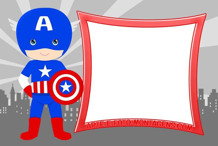 Molduras para foto - capitao-america - Personagens A-D, curta nossas molduras e aproveite tudo que fazemos para você!
