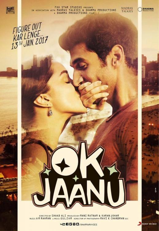 Photos,Karan Johar,Shraddha Kapoor,aditya roy kapur,OK Jaanu,Ok Jaanu poster