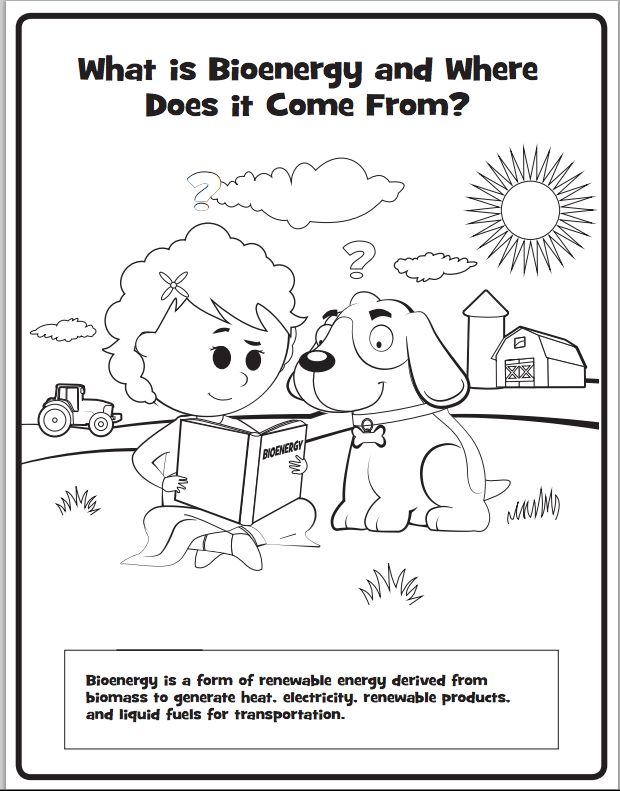 check out our new bioenergy coloring book   education  energy