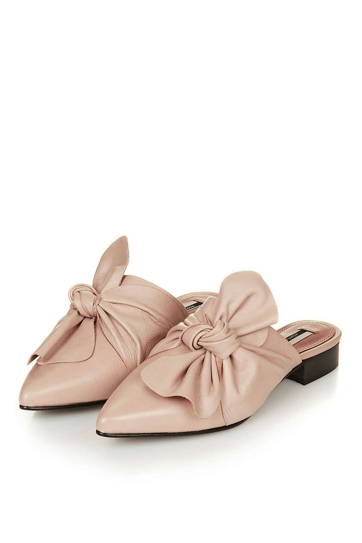 Limited Edition PISTACHIO Bow Sliders | TOPSHOP | $150
