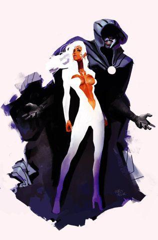 Cloak and Dagger #Marvel: Comic Books, Marvel Comic, Comicart, Dark Art, Comicbook, Comic Art, Cloaks Dagger, Cloaks And Dagger, Marco Nelor
