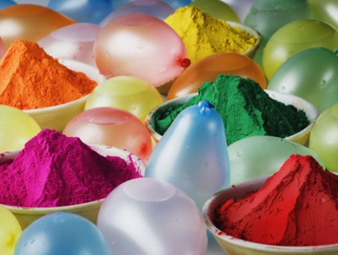 Safe, homemade colors for Holi