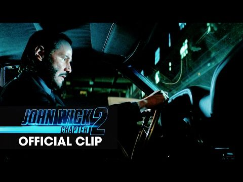 Lionsgate Movies: John Wick: Chapter 2 (2017 Movie) Official Clip - 'Car Chase'