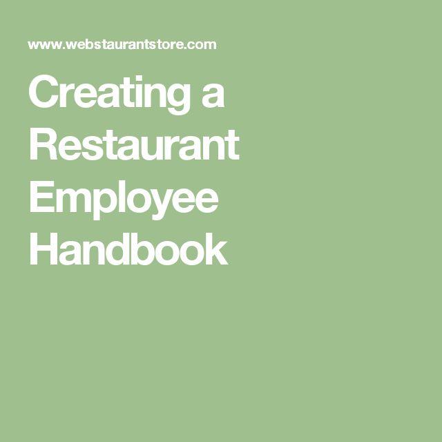 Best 25+ Employee handbook ideas on Pinterest