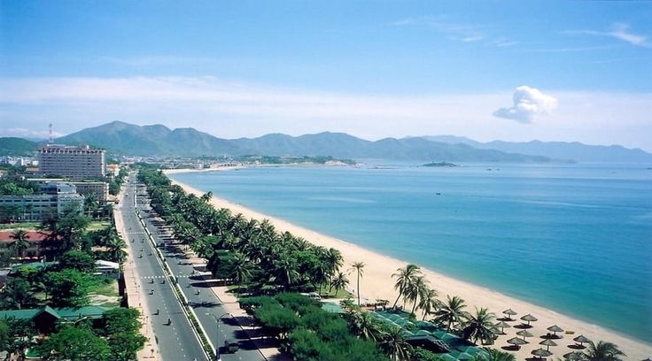Top Vietnam Sightseeing Attractions -  For sandy fun in Vietnam, Nha Trang is king. The well-maintained beach trundles for six kilometers over the shoreline of central Nha Trang city.