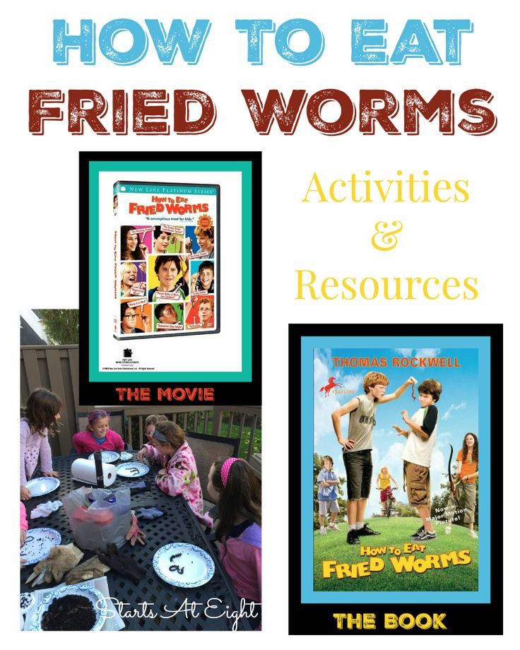 296 best childrens books with activities images on pinterest how to eat fried worms activities resources ccuart Image collections