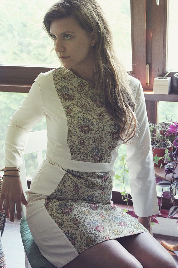 Silk Embroidery Dress by ChaSho on Etsy