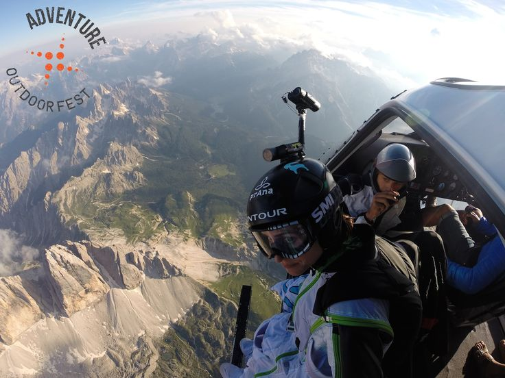 3 Peaks Wingsuit flight with Steph Davis