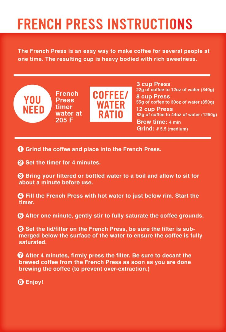 french press instructions pura vida pinterest french and awesome. Black Bedroom Furniture Sets. Home Design Ideas