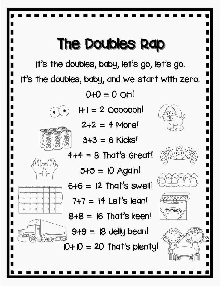 DOUBLES and NBT Task Cards and FREEBIE (With images