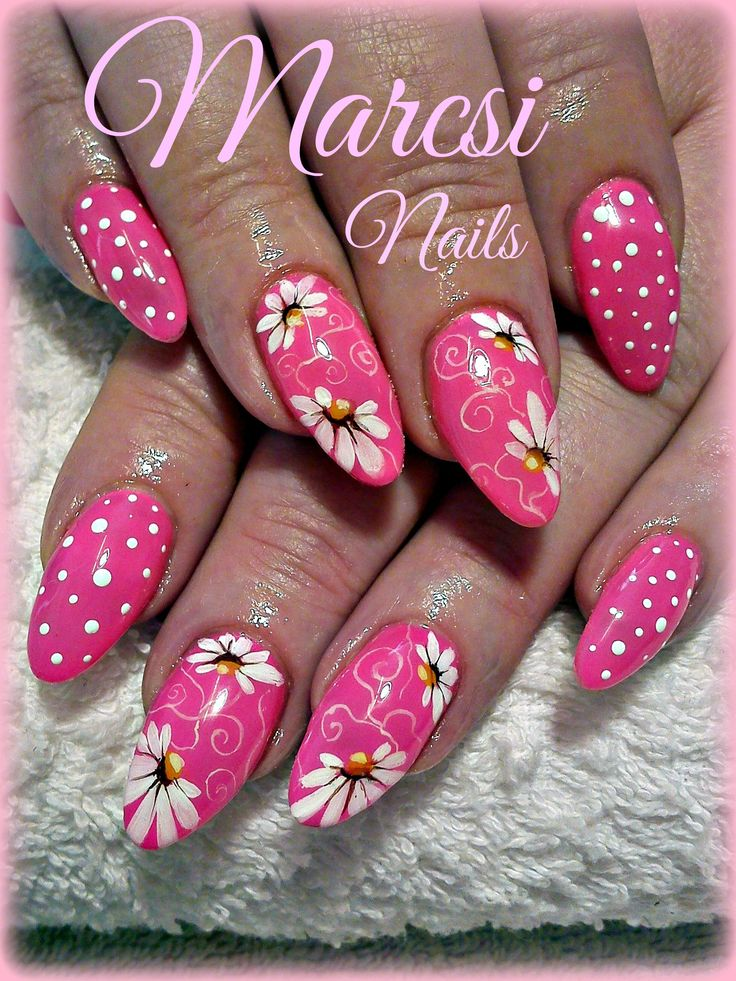 8513 Best Images About Pink Nails On Pinterest Nail Art Floral Nail Art And Flower Nail Art