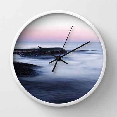 Misty Sea Wall Clock by Nicklas Gustafsson - $30.00