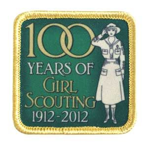 Girl Scouts VINTAGE UNIFORM 100 YEARS OF GIRL SCOUTING PATCH