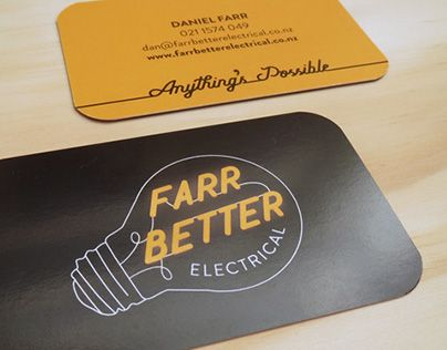 """Check out new work on my @Behance portfolio: """"Farr Better Electrical"""" http://be.net/gallery/37894201/Farr-Better-Electrical"""