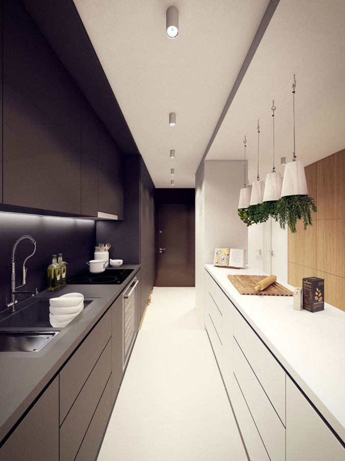 Cucina Rettangolare Arredamento.Risultati Immagini Per Cucine Rettangolari Lunghe Casa
