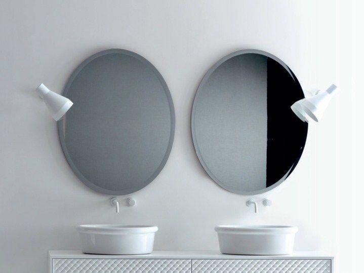 Oltre 25 fantastiche idee su specchio ovale su pinterest - Specchio ovale per bagno ...