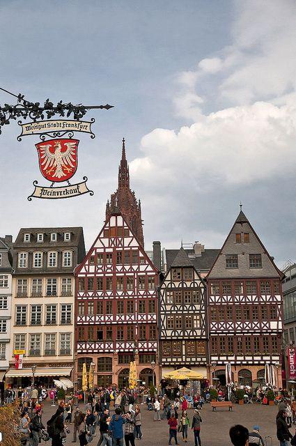 Römerberg, Frankfurt, Germany