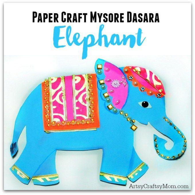 Make an Indian Elephnat Craft