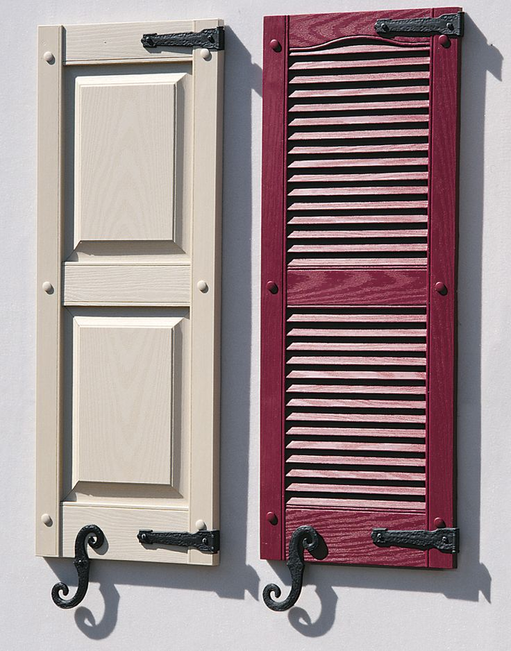 10 Best Images About Exterior Shutters With Hinges On Pinterest Vinyls Board And Batten
