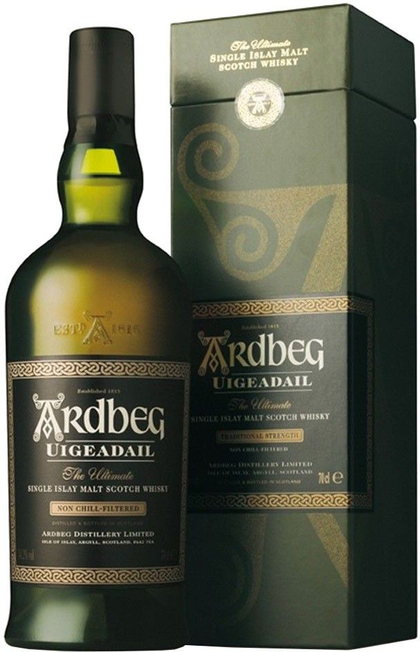 "#FathersDay Pick:  Ardbeg Uigeadail Single Malt #Scotch #Whisky | Named after Ardbeg's unique water source, this whisky was named ""Whisky of the Year"" by the Whisky Bible."