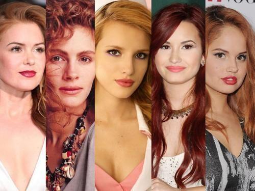 Moda: #Trucco #rossa #occhi castani: 7 make-up look delle star PERFETTI per gli occhi scuri coi capelli... (link: http://ift.tt/1U8D0M8 )