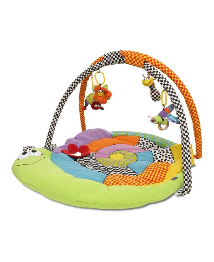 Playgro Discovery Gym  Leuk kleurrijk speelkleed van Amazing Garden. De vrolijke kleuren en diverse activiteiten van het kleed bevorderen de visuele en motorische ontwikkelingen van uw kindje.