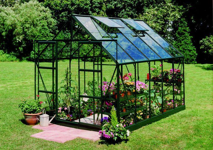 Szklarnia ogrodowa dla roślin wymagających cieplejszego klimatu