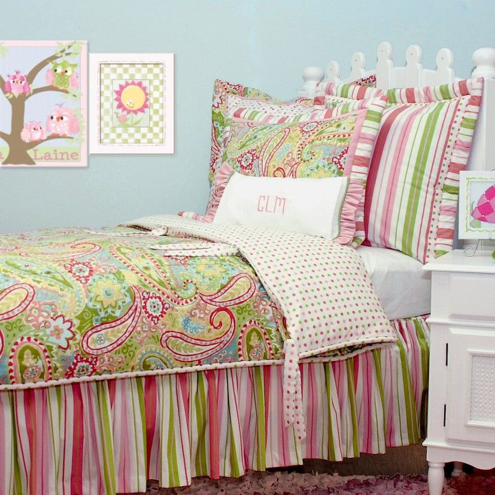 For Maryclaire Coordinates With Her Bedding Spring