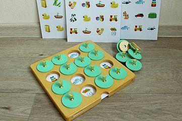 Яркая и интересная игрушка Мемори для тренировки памяти Возраст от 2 лет