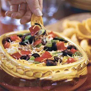 Remember Tracy's Black Bean dip under Dr. Fuhrman appetizers.