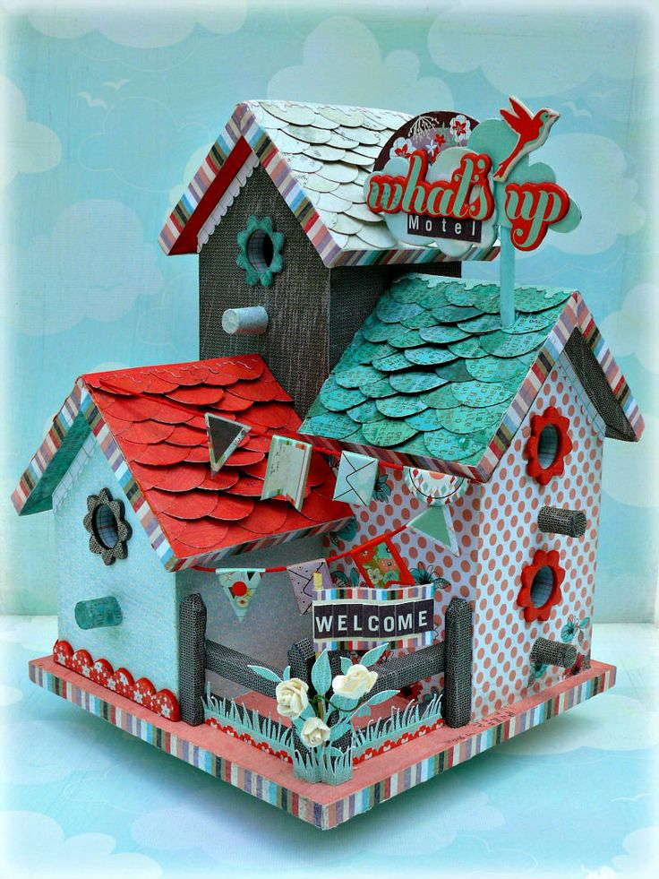640 best 3D Papercrafts - Birdcages and Birds images on Pinterest