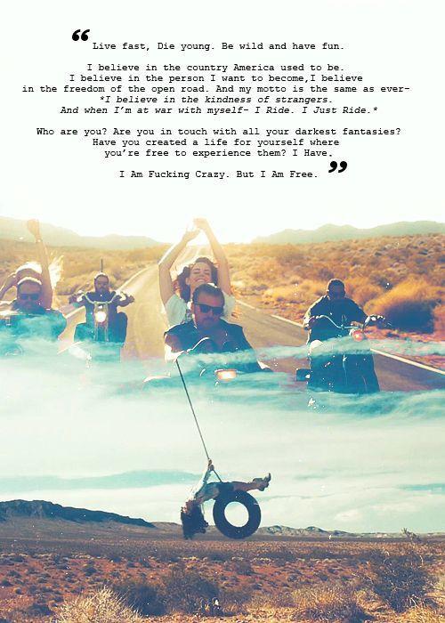 Lana del Rey lyrics ride