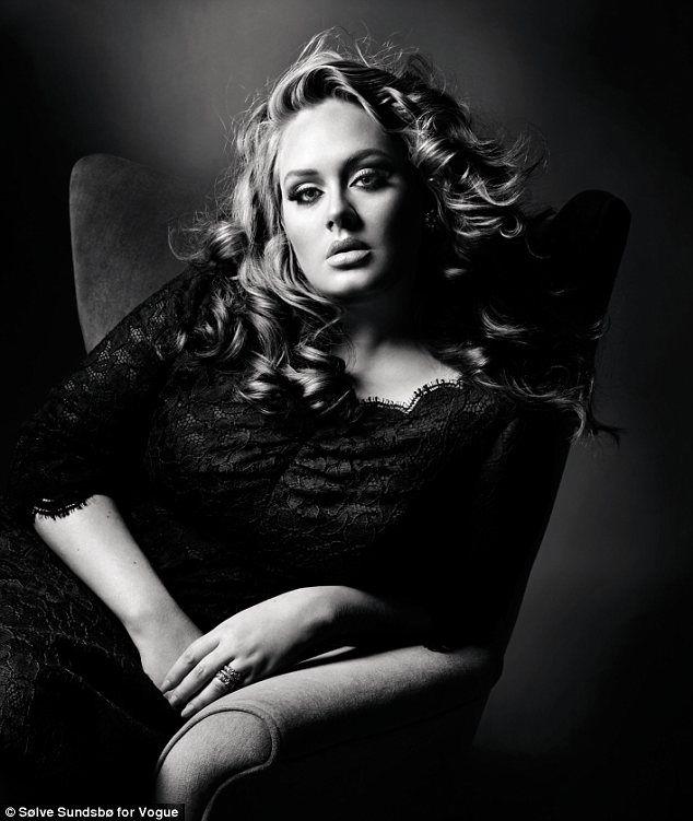 Adele: Girls Crushes, Plus Size, Vogue Uk, British Vogue, Vogue Magazines, Beautiful People, Hair, Real Woman, Adele