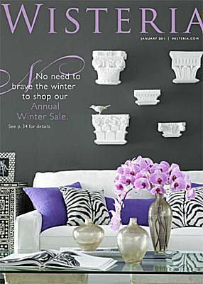 33 Home Decor Catalogs You Can Get for Free by Mail: Wisteria Home Decor Catalog