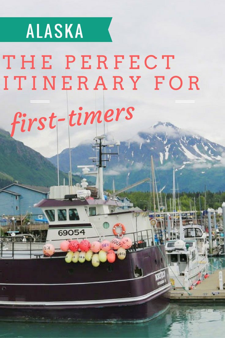The perfect Alaska itinerary for first-time visitors. Fly into Anchorage then off to Homer, Seward, Aleyeska, Talkeetna, and Denali. Halibut, Bears, Moose, and more!