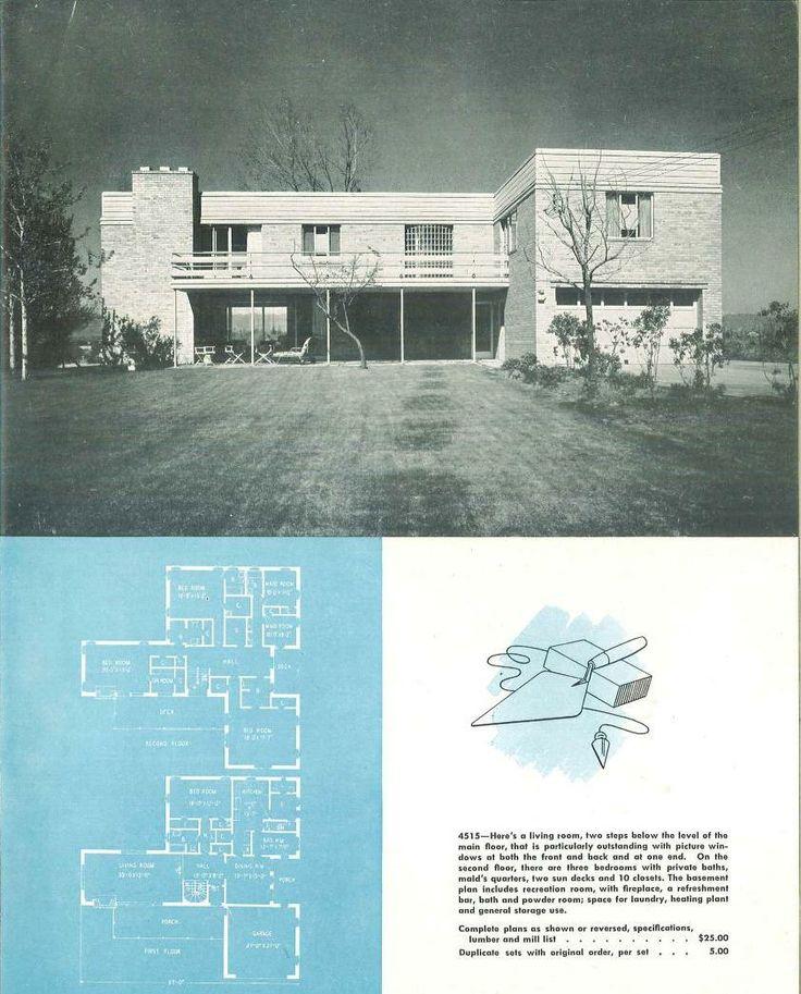 Http www artdecoresource com 2014 03 more · vintage house plansmodern house plansvintage houseshouse floor plansart deco housearchitectural
