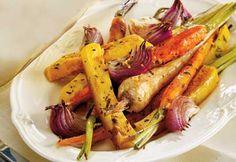 Légumes rôtis au balsamique et aux fines herbes
