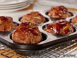 Two-Step Meat Loaf Muffins