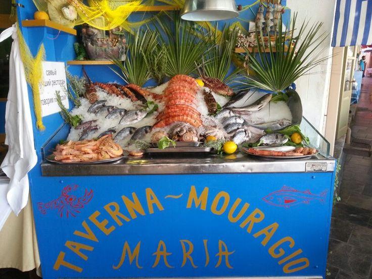 Aan de haven Rethymnon.. best fish ever!
