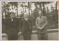 Walter Gropius, Béla Bartók, And Paul Klee In Dessau