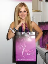 Fans of Flip-In Hair Extensions