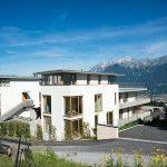 Terrassenwohnung mit unverbaubarer Aussicht auf der sonnigen Inntalseite #terrace #building #apartment #mountainview #aldrans #nordkette
