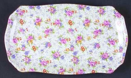 Sandwich tray by Royal Winton in Eleanor pattern