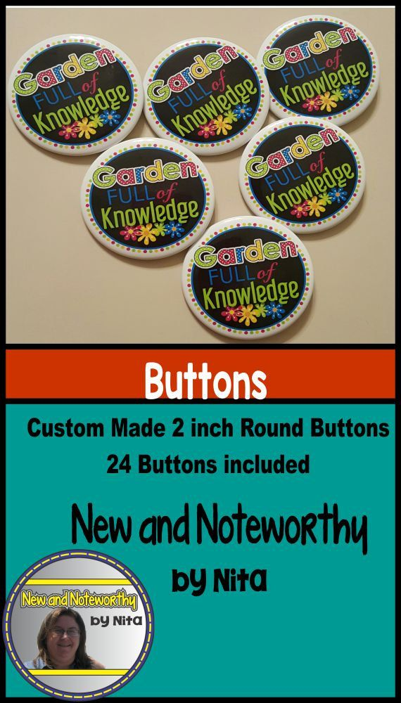 Buttons  Custom Made with round logos by NewNoteworthybyNita