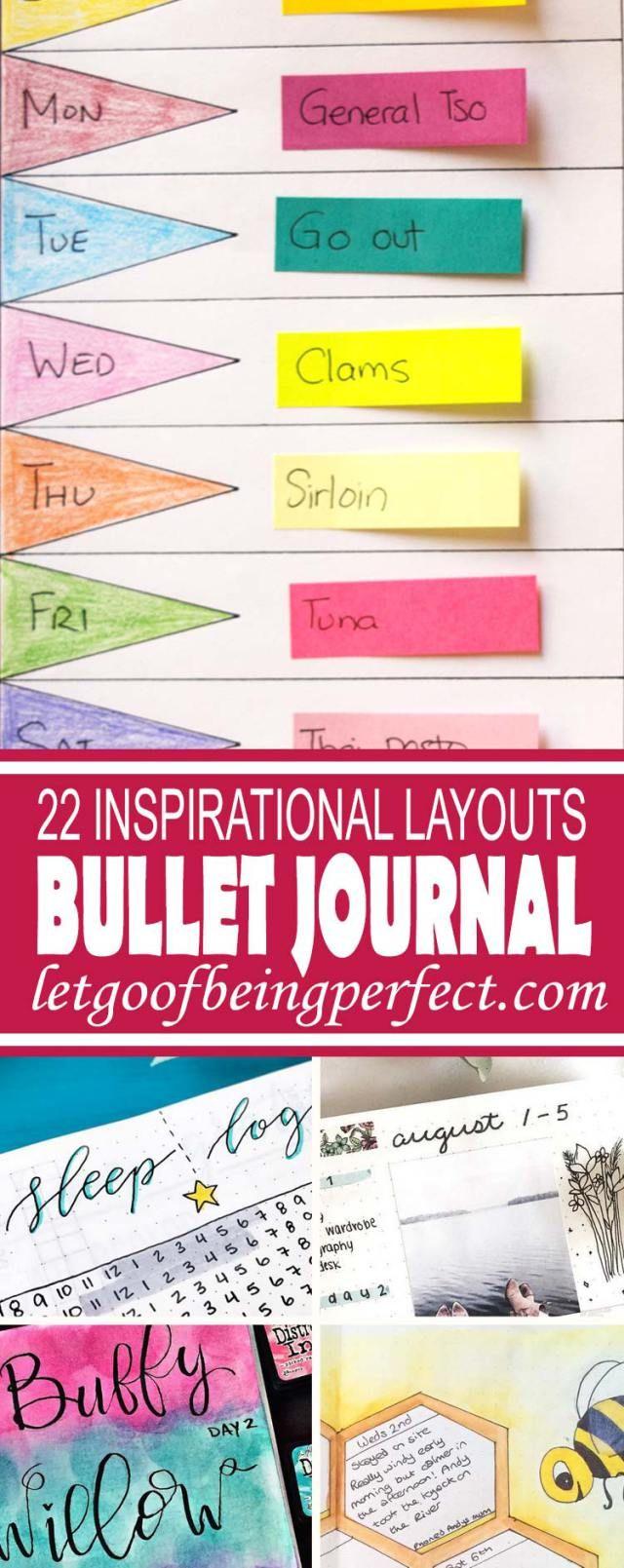 22 Inspirational Bullet Journal Roundup