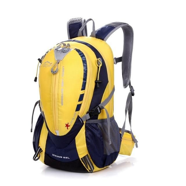LOCAL LION CLIMBING BACKPACK QUALITY WATERPROOF NYLON HIKING BACKPACK OUTDOOR SPORTS BAG RUCKSACK MEN TRAVEL BAGS BACK PACK 25L