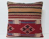 24x24 kilim pillow 24x24 euro pillow cover large outdoor pillow 24x24 pillow cover 24x24 pillows large kilim rug red kilim pillow sham 17673