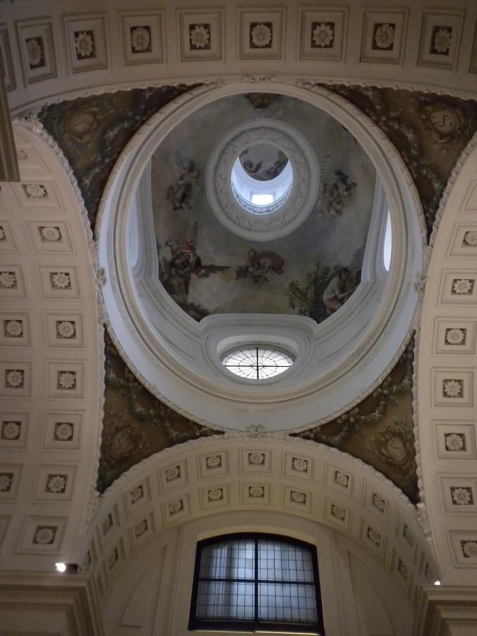Cúpula del Oratorio del Caballero de Gracia. Madrid.