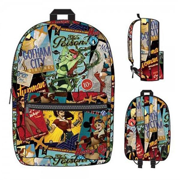 DC Comics Bombshells Sublimated Backpack