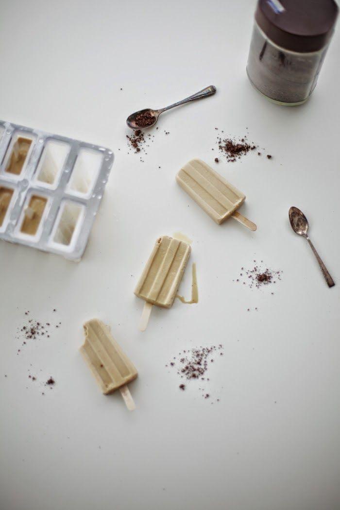 Milky Vietnamese Coffee Popsicles